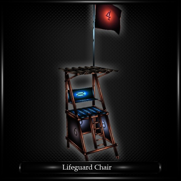 LIFEGUARD CHAIR MESH FURNITURE