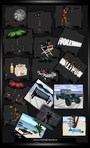 HOLLYWOOD BUNDLE & 2 GIFTS