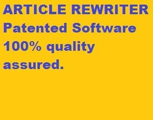 Article Rewriter Software