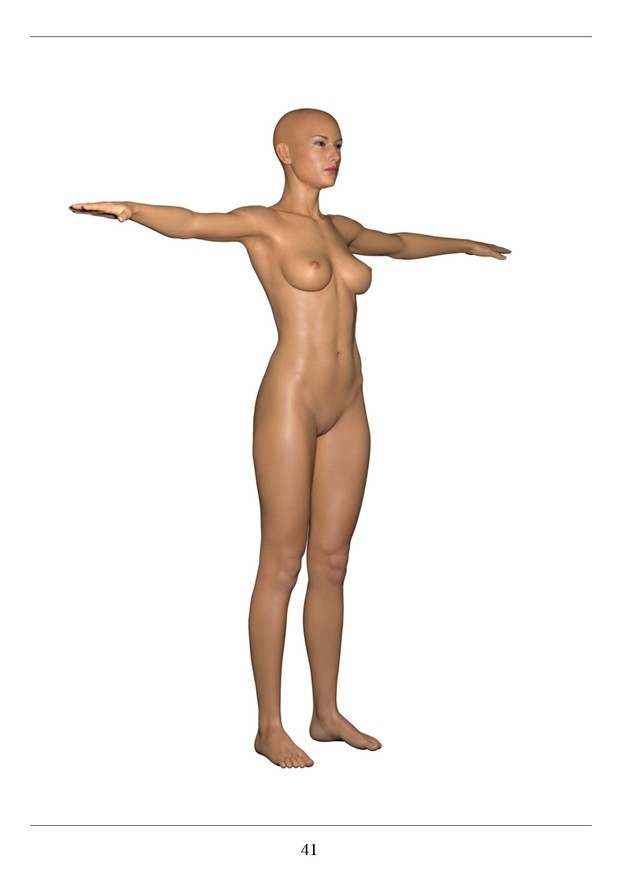 Female Anatomy References for Artists 1 - WSArt