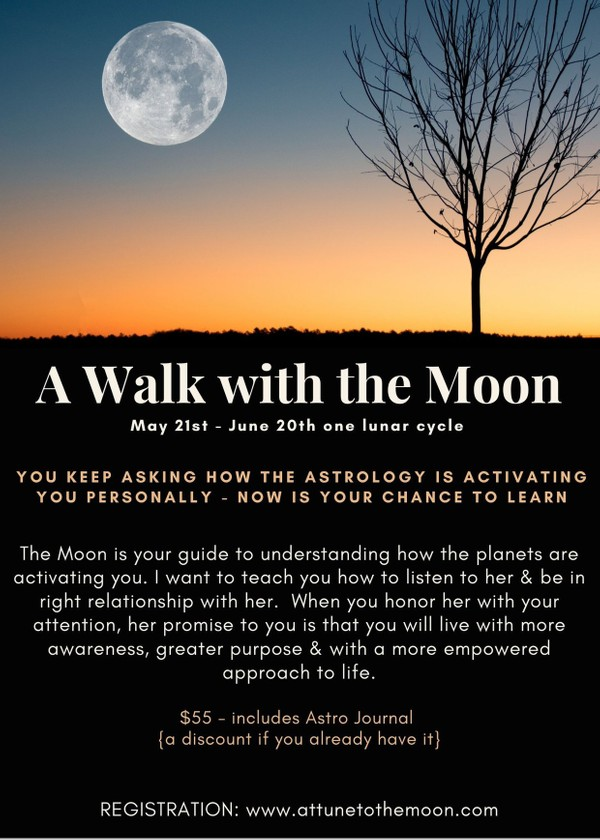 A WALK WITH THE MOON ASTRO COURSE -- US & CANADA