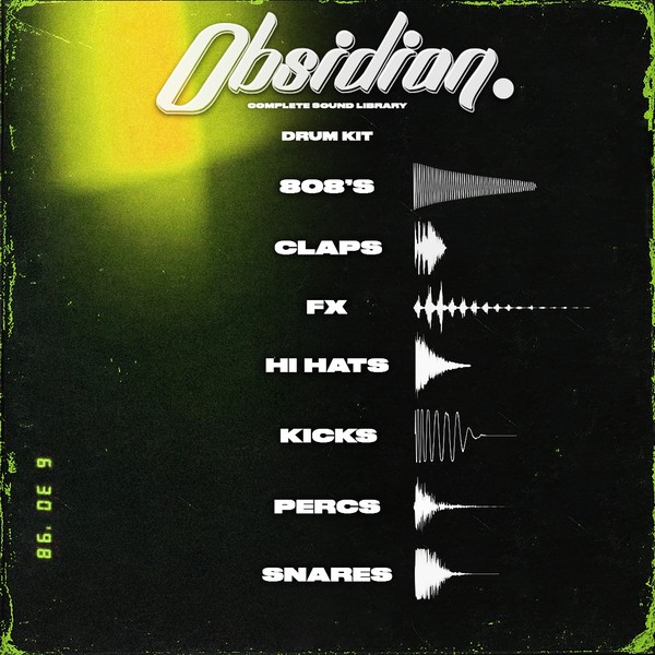 Obsidian - Drum Kit
