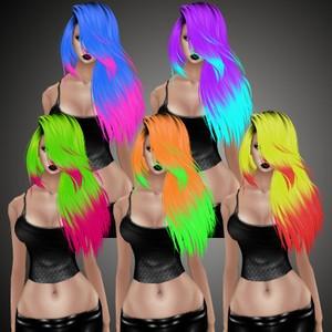 Wicked Dye Hair Pack