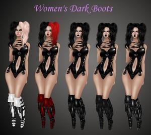 Women's Dark Boots