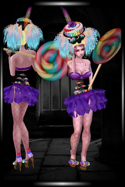 Evil Candy Witch Bundle for Catalog Use Only