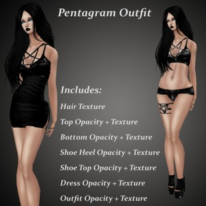 Pentagram Outfit Bundle