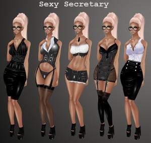 Sexy Secretary Pack