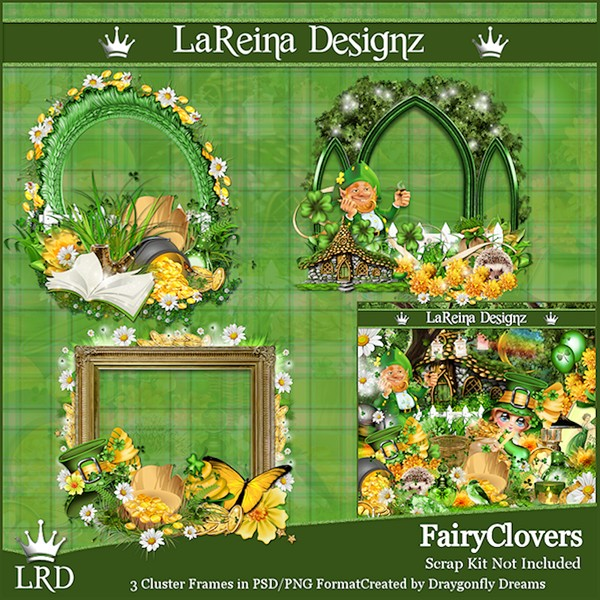 FairyClovers - Cluster Frames