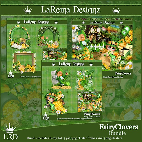 FairyClovers - Bundle