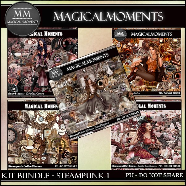 Kit Bundle Steampunk 1