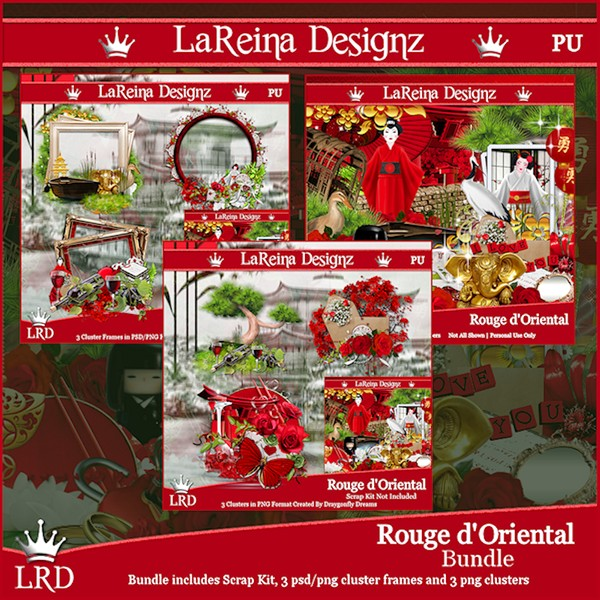 Rouge d'Oriental - Bundle