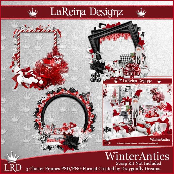 WinterAntics - Cluster Frames
