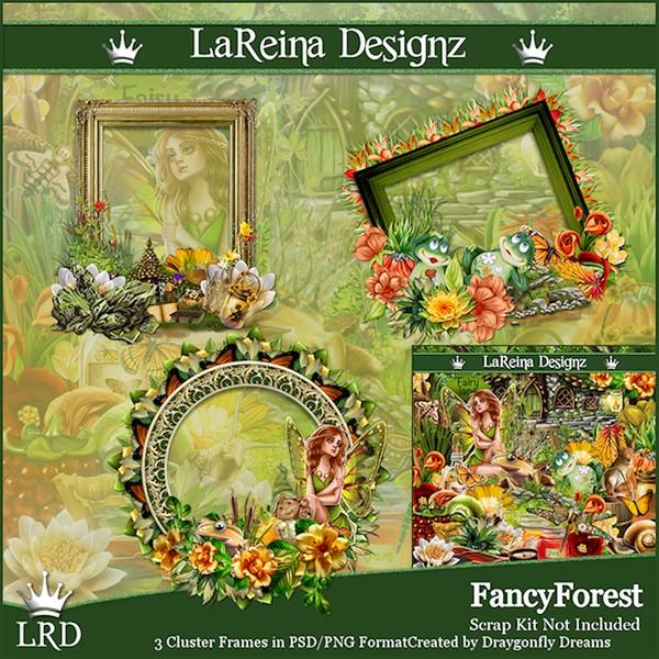 FancyForest - Cluster Frames