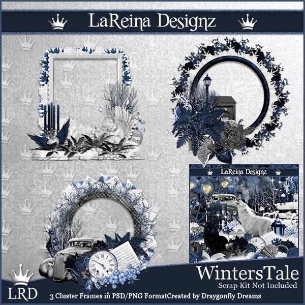 Winter'sTale - Cluster Frames