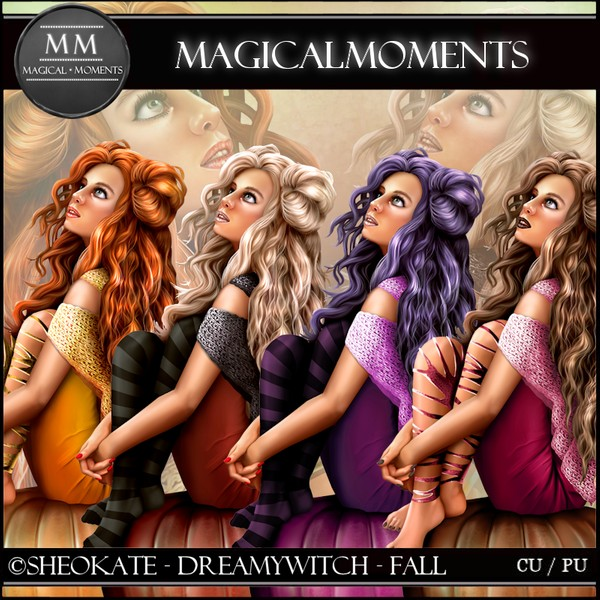 DreamyWitch Fall Tube Pack