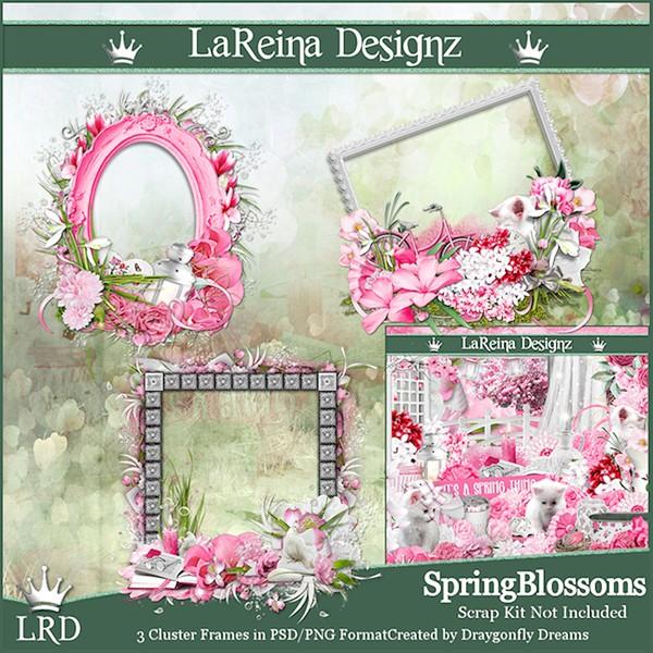 SpringBlossoms - Cluster Frames