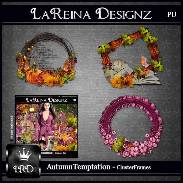AutumnTemptation - Cluster Frames