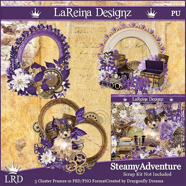 SteamyAdventure - Cluster Frames
