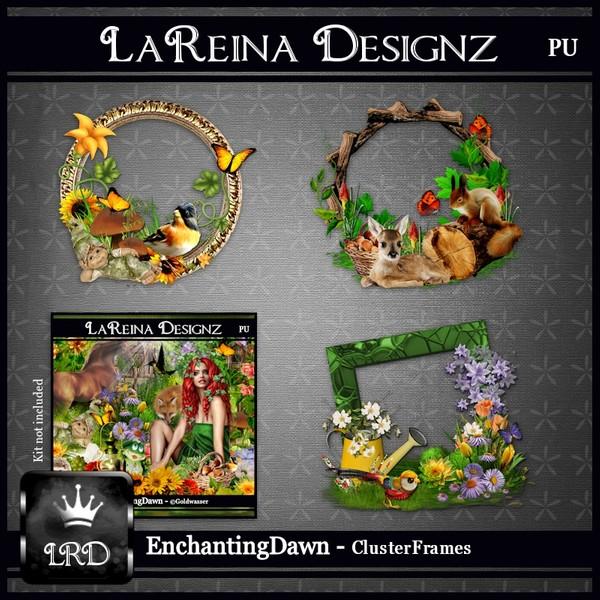 EnchantingDawn - Cluster Frames