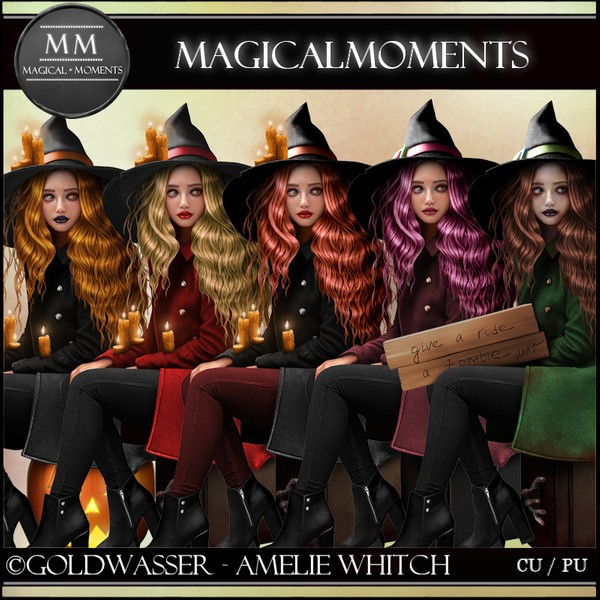 Amelie Witch Tube Pack