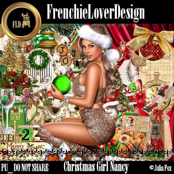 Christmas Girl Nancy