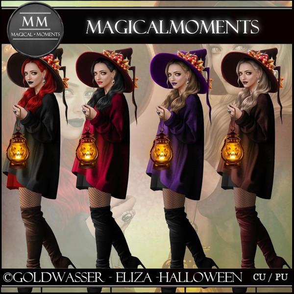 Eliza Halloween Tube Pack