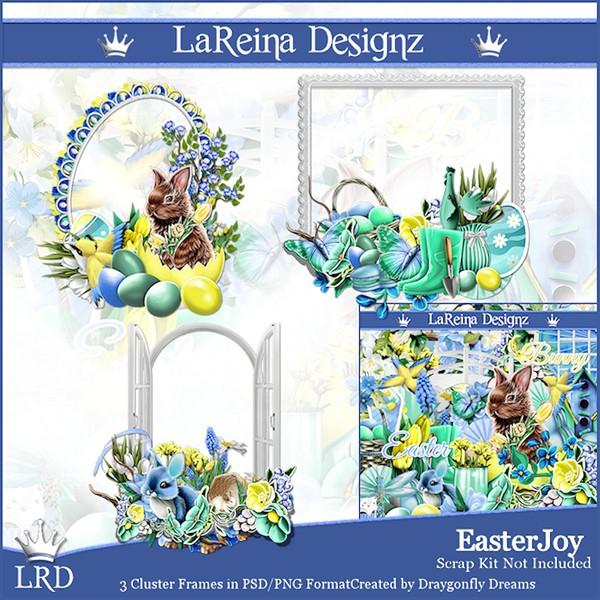EasterJoy - Cluster Frames