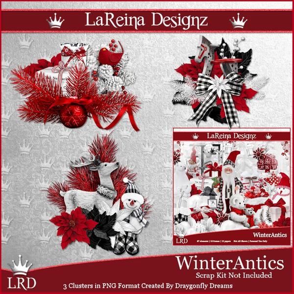 WinterAntics - Clusters