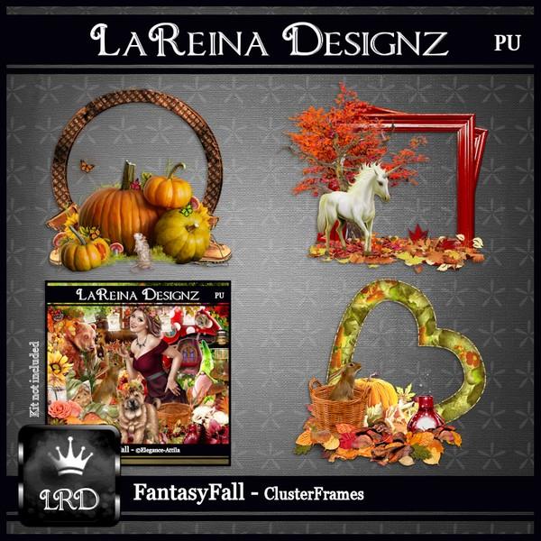 FantasyFall - Cluster Frames