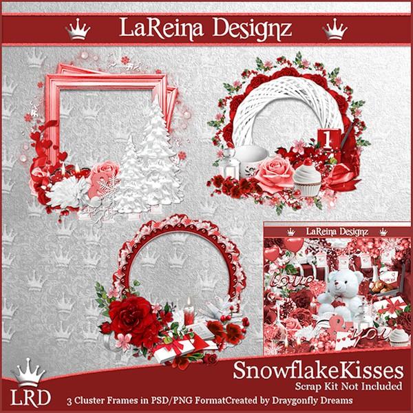 SnowflakeKisses - ClusterFrames