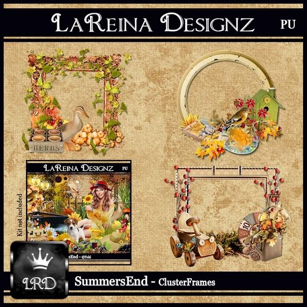 SummersEnd Cluster Frames