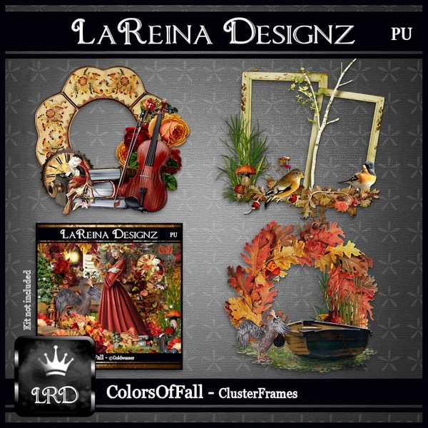 ColorsOfFall - Cluster Frames