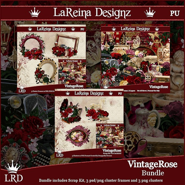 VintageRose - Bundle