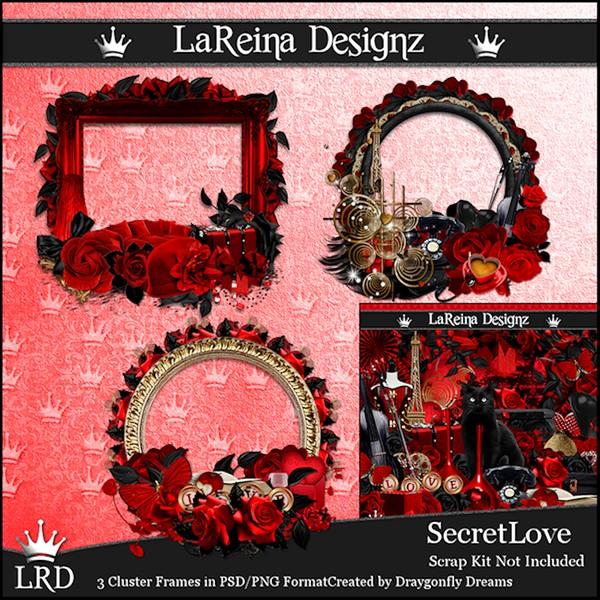SecretLove - Cluster Frames