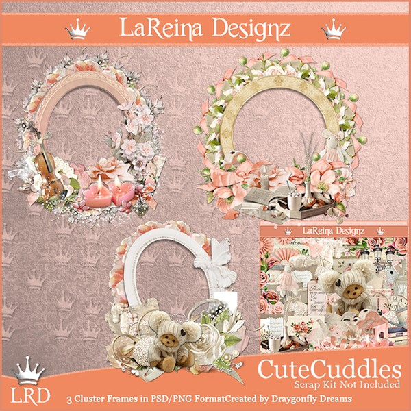 CuteCuddles - Cluster Frames