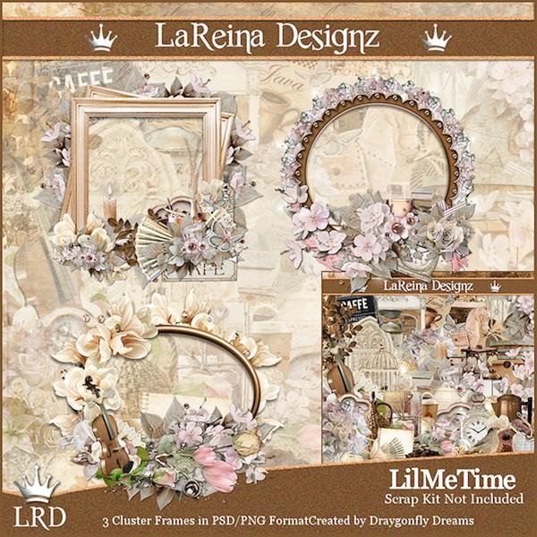 LilMeTime - Cluster Frames