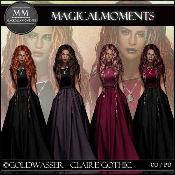 Claire Gothic Tube Pack