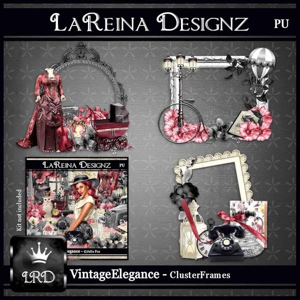 VintageElegance - Cluster Frames
