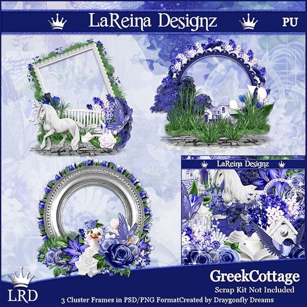 GreekCottage - Cluster Frames