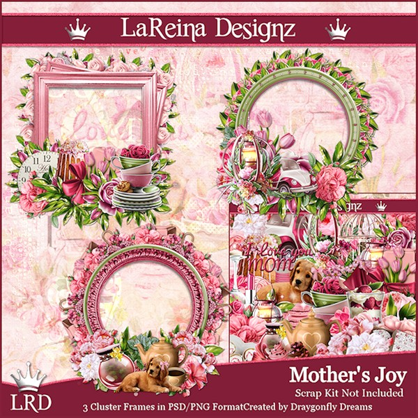 Mother'sJoy - Cluster Frames