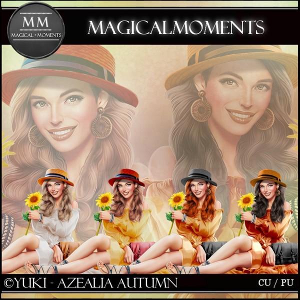 Azealia Autumn Tube Pack