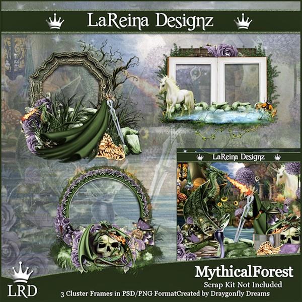 MythicalForest - Cluster Frames