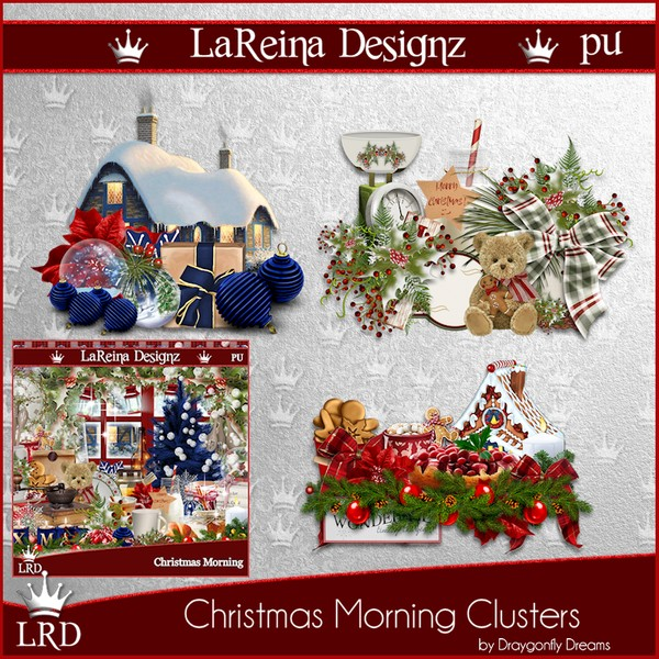 ChristmasMorning - Clusters