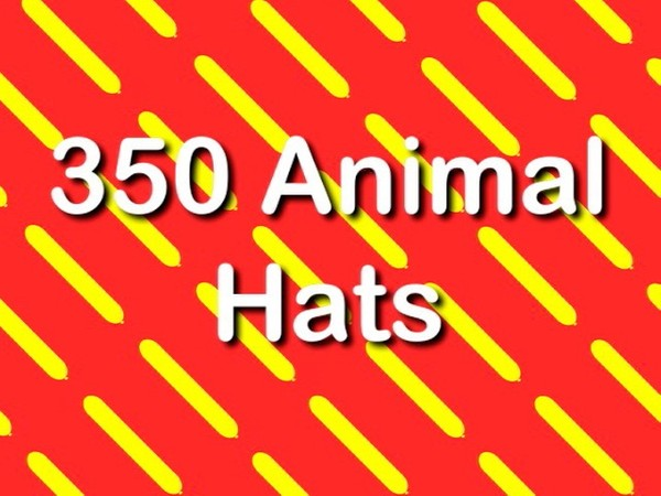 350 Animal Hats with Asi Cohen - Full length twisting video