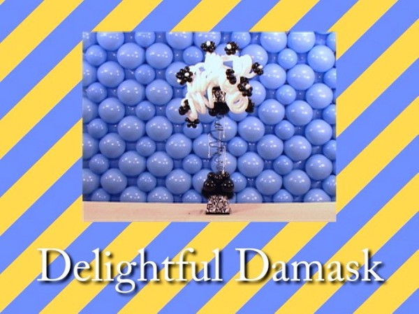 """Delightful Damask"" Table Centerpiece with 'Tope Abulude, CBA - Single recipe video"