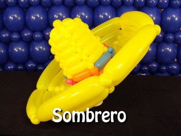 Sombrero Balloon Hat Recipe by Steven Jones