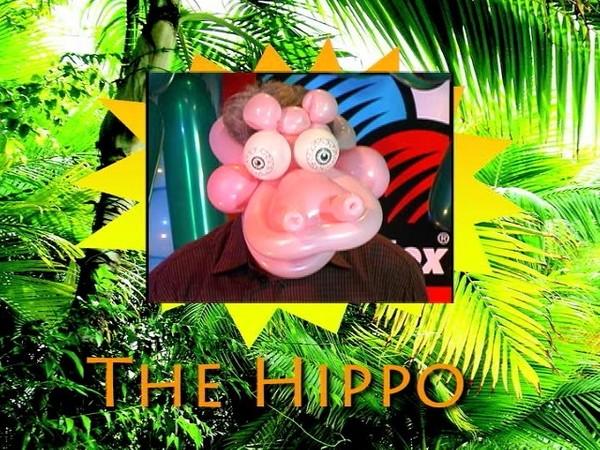 """Hippo Hat"" Balloon Twisting Recipe by Jimmy Leo"