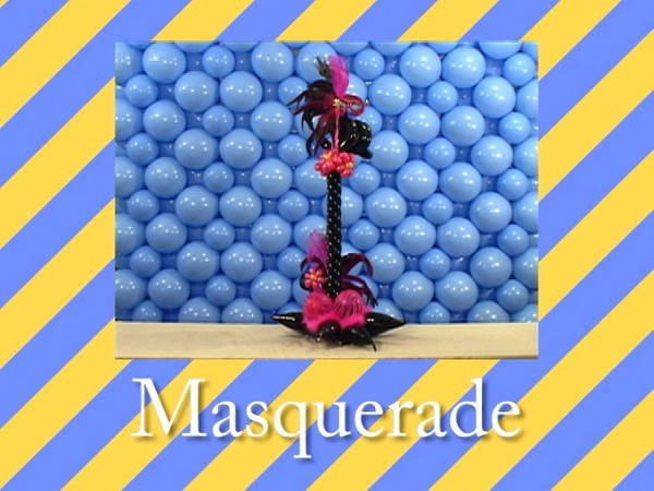 """Masquerade"" Table Centerpiece with 'Tope Abulude, CBA - Single recipe video"