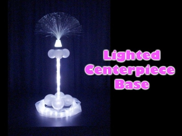 Lighted Centerpiece Base Design by Steven Jones