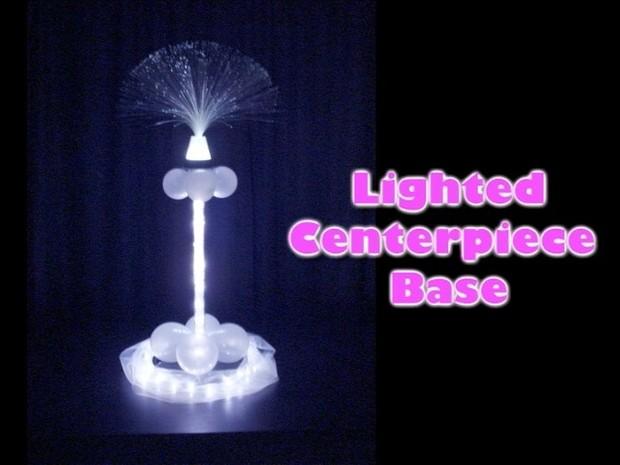 Lighted Centerpiece Base Design by Steven Jones